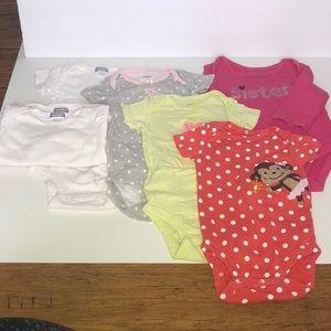 Other - Baby Basics!! 7 Onesies!